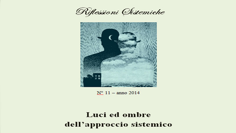 Rivista Riflessioni Sistemiche - Scuola Psicoterapia Roma