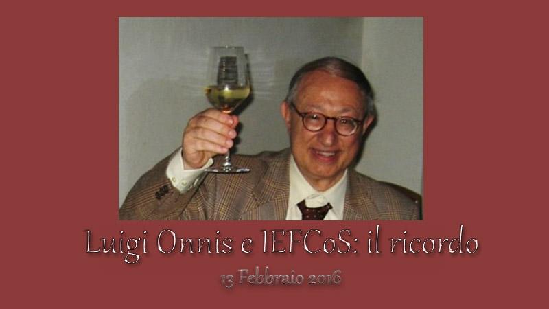 Luigi Onnis e IEFCoS