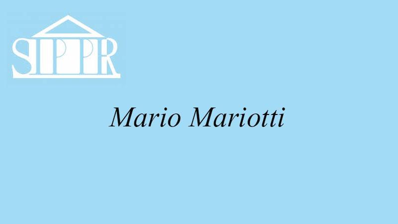 il ricordo di Gigi Onnis di Mario Mariotti