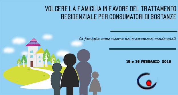 Volgere la famiglia in favore del trattamento residenziale per consumatori di sostanze